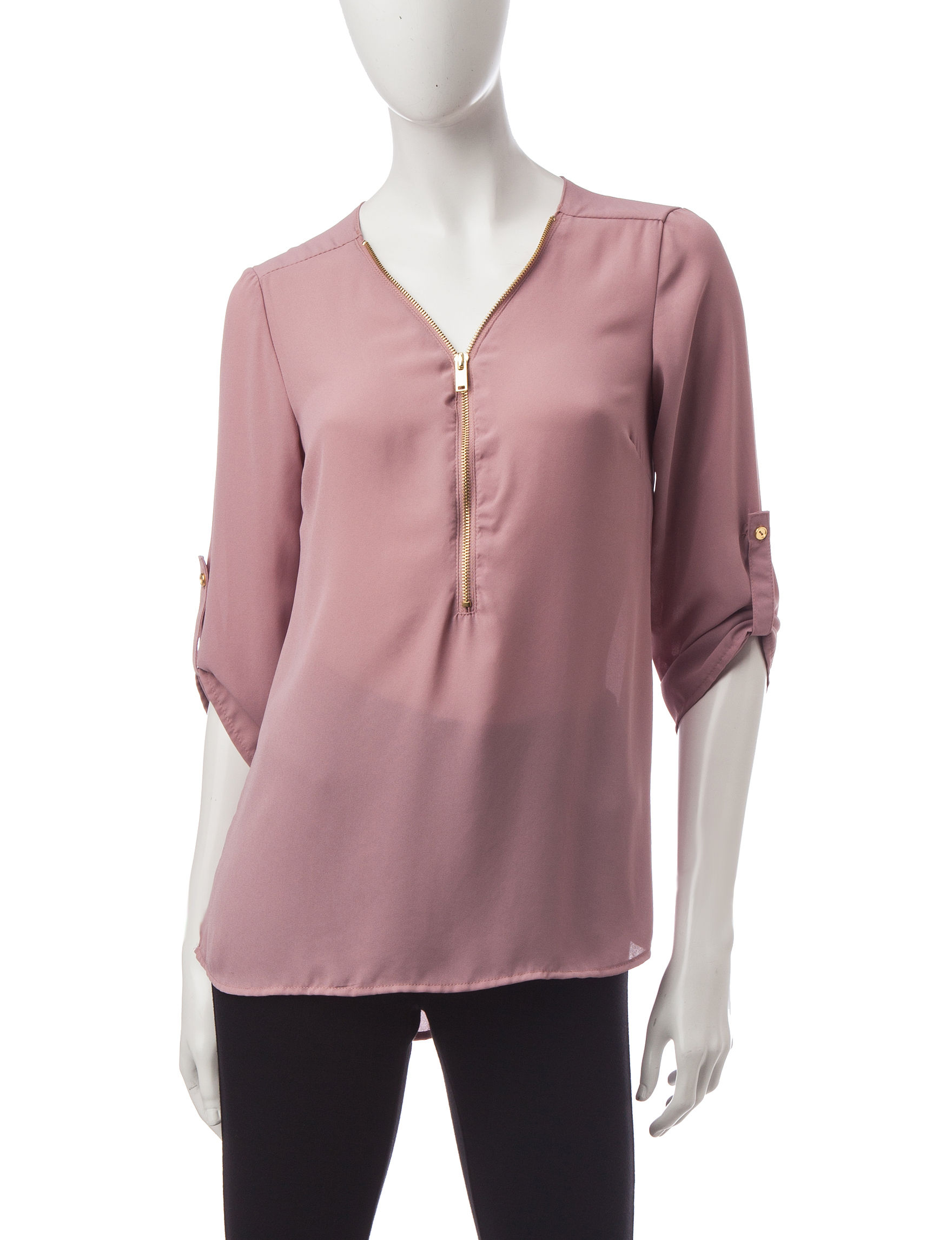 Wishful Park Mauve Pull-overs Shirts & Blouses