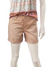 Signature Studio Khaki Cuffed Shorts