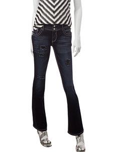 Amethyst Slim Bootcut Dark Wash Jeans