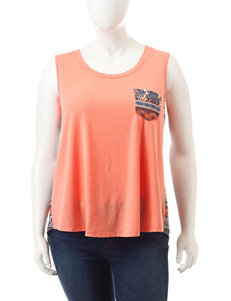 Liberty Love Coral Tees & Tanks