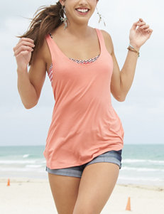Ultra Flirt Coral Tees & Tanks