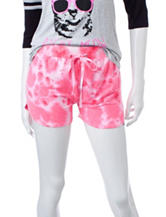 Electric Pink Pink Tie Dye Shorts