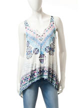 Almost Famous Multicolor Tribal Print Tank Top