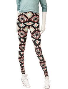 Justify Multicolor Aztec Print Leggings