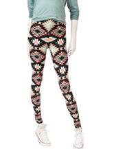 Justify Multicolor Aztec Print Leggings
