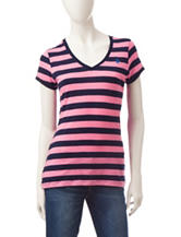 U.S. Polo Assn. Striped Knit Top