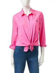 U.S. Polo Assn. Medium Pink