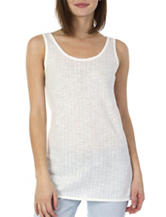 Unionbay® White Criss-Cross Tank Top