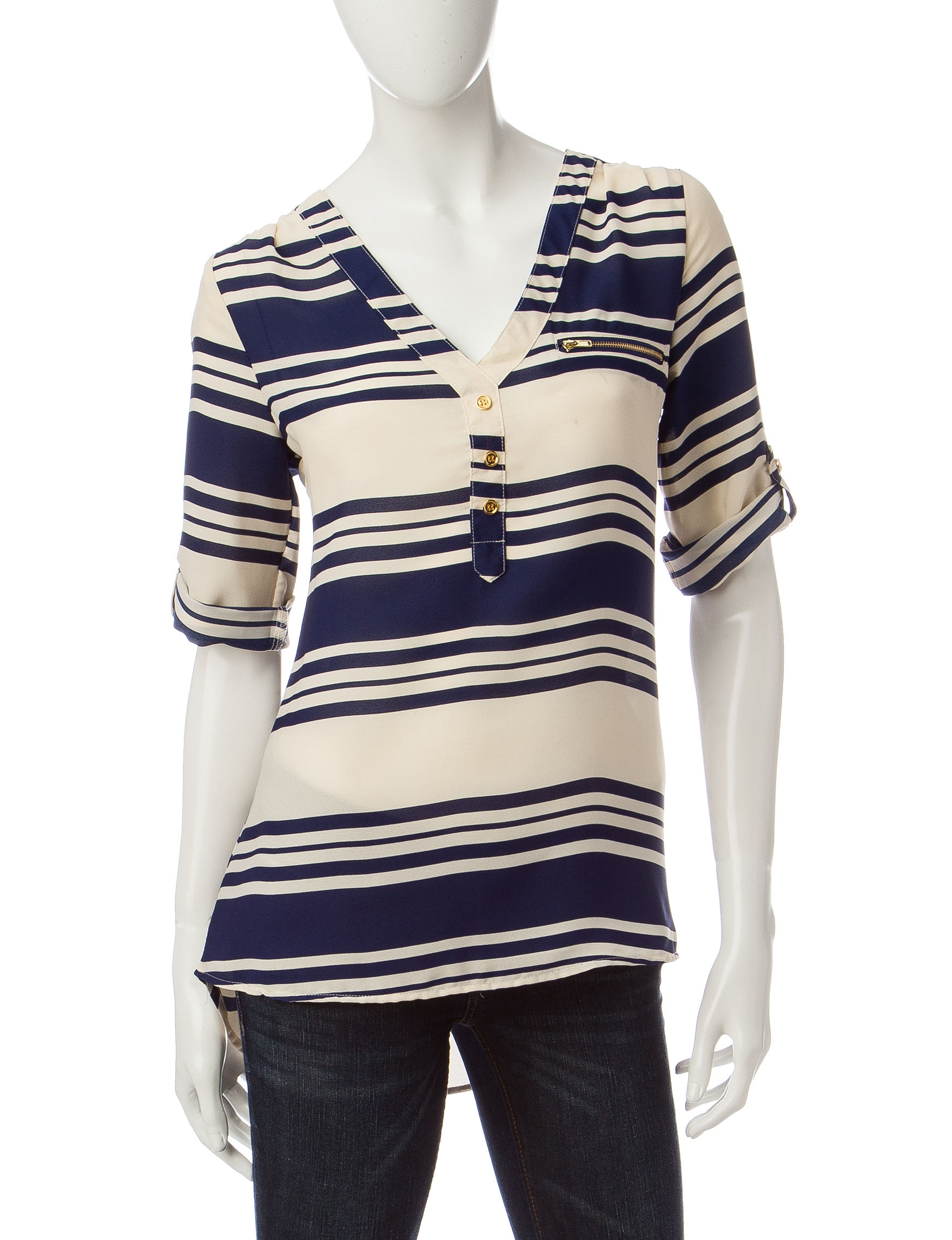 Wishful Park Navy Stripe Pull-overs
