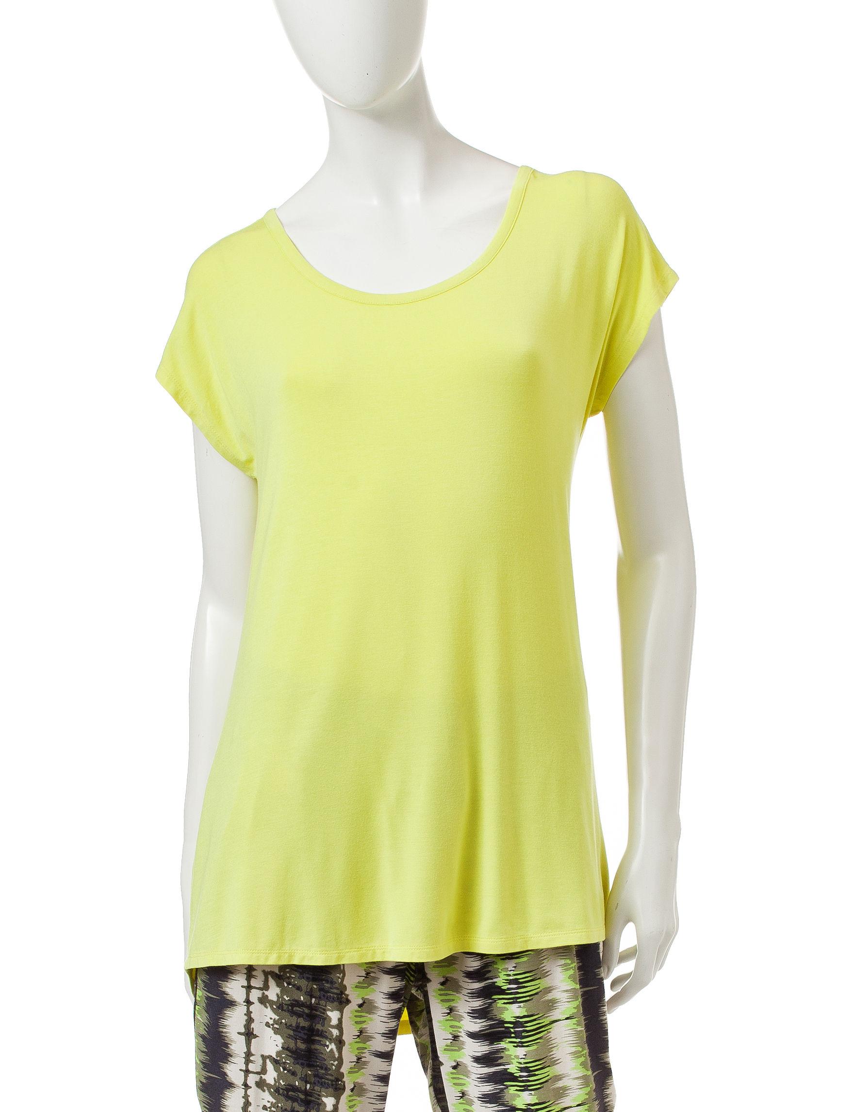 Signature Studio Lime Shirts & Blouses