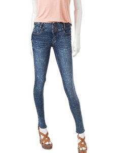 Sound Girl Stacked Waist Skinny Jeans