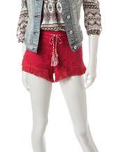 Vanilla Star Crochet Tassel Woven horts