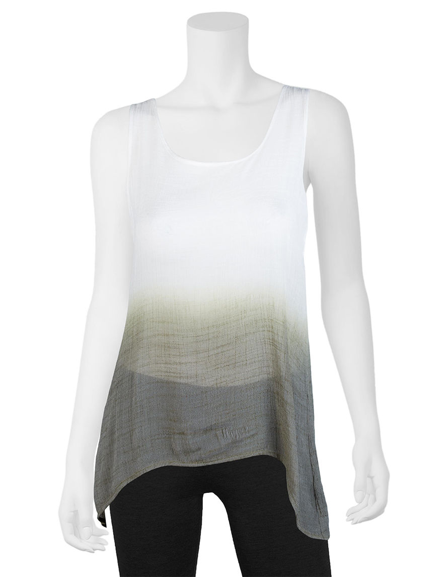 A. Byer Olive Tees & Tanks