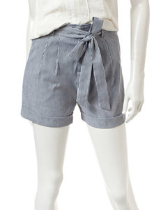 Romeo + Juliet Couture Blue / White Soft Shorts