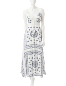 Romeo + Juliet Couture White Multi Sundresses