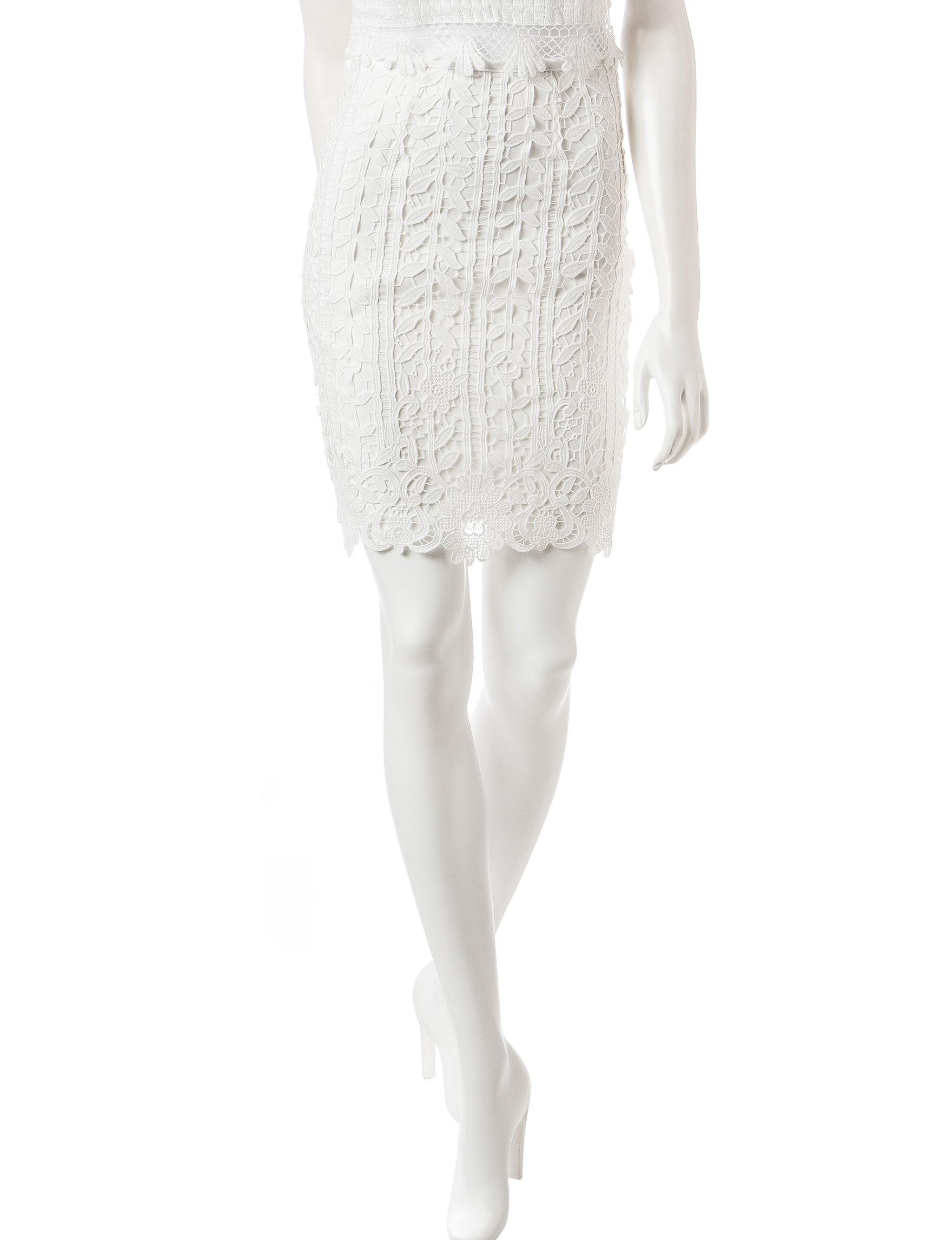 Romeo + Juliet Couture White Slim