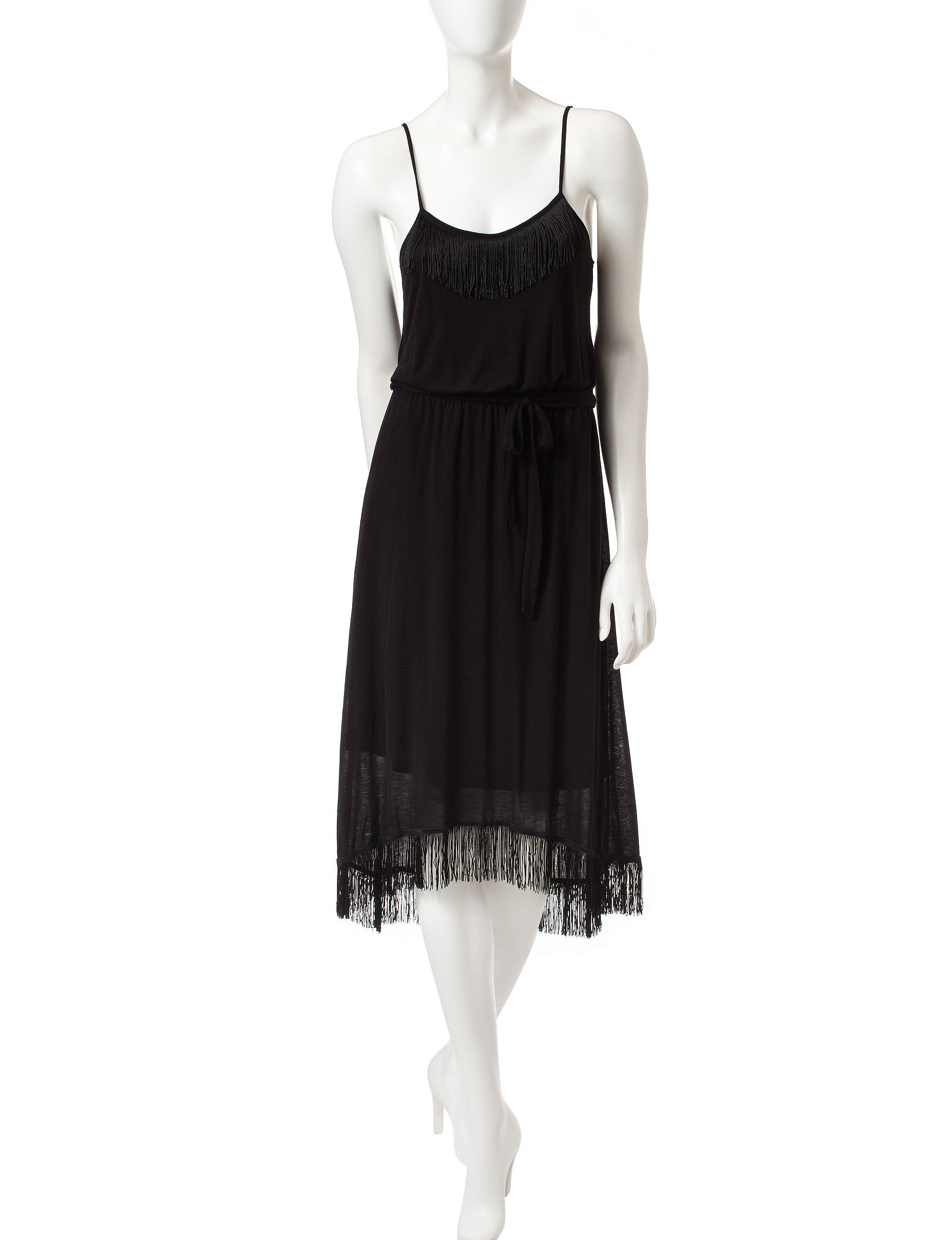 Kensie Black Cocktail & Party A-line Dresses