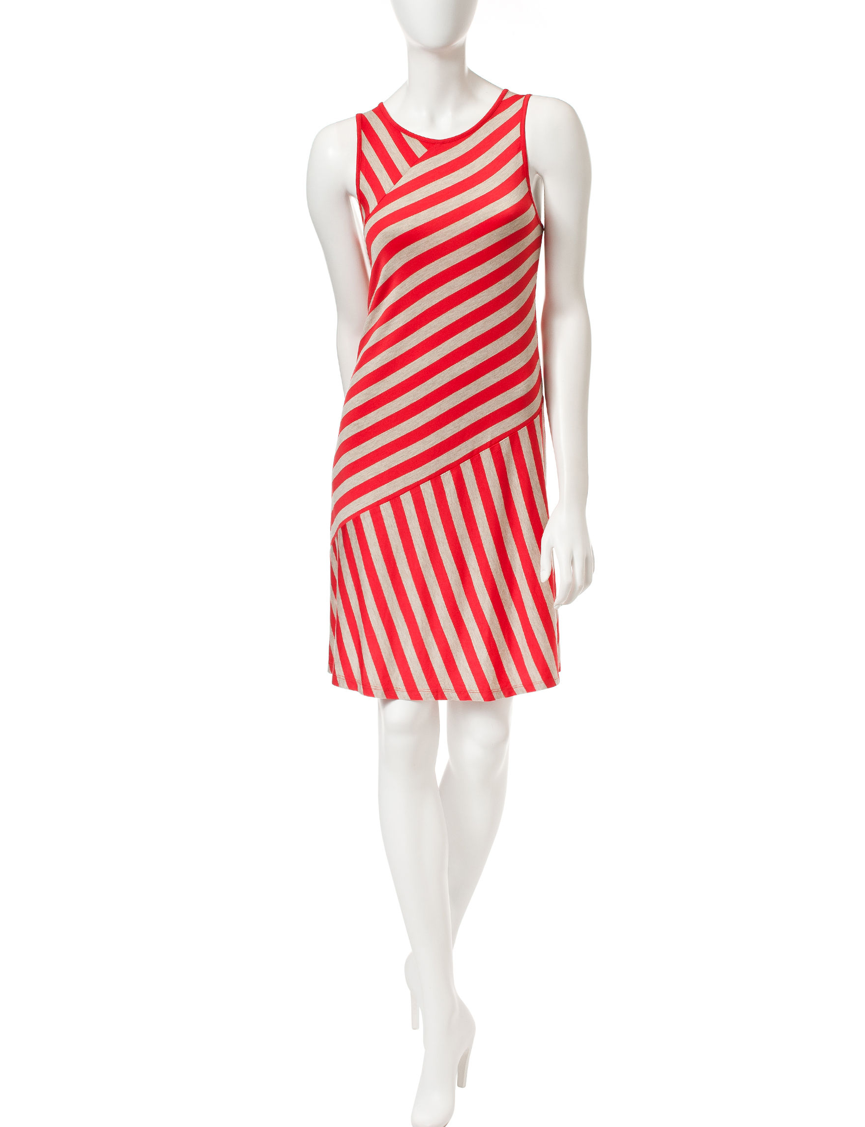 Kensie Red Everyday & Casual Shift Dresses