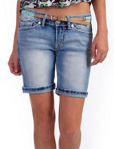 Unionbay® Light Wash Bermuda Shorts