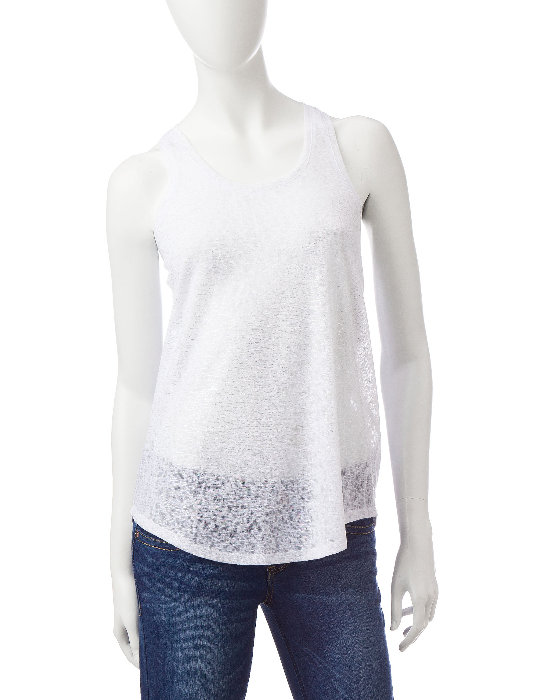 Jessica Simpson Bright White Tees & Tanks