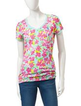 U.S. Polo Assn. Multicolor Floral Print Top