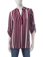 Wishful Park Vertical Striped Top