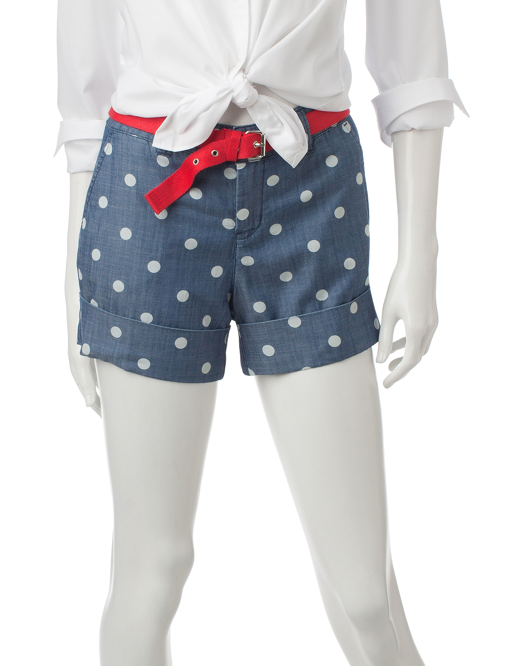 U.S. Polo Assn. Blue Tailored Shorts