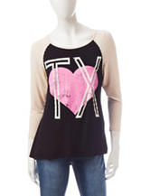 Living Doll Texas Heart Top