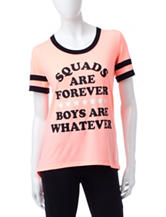 Electric Pink Squad Goals Top