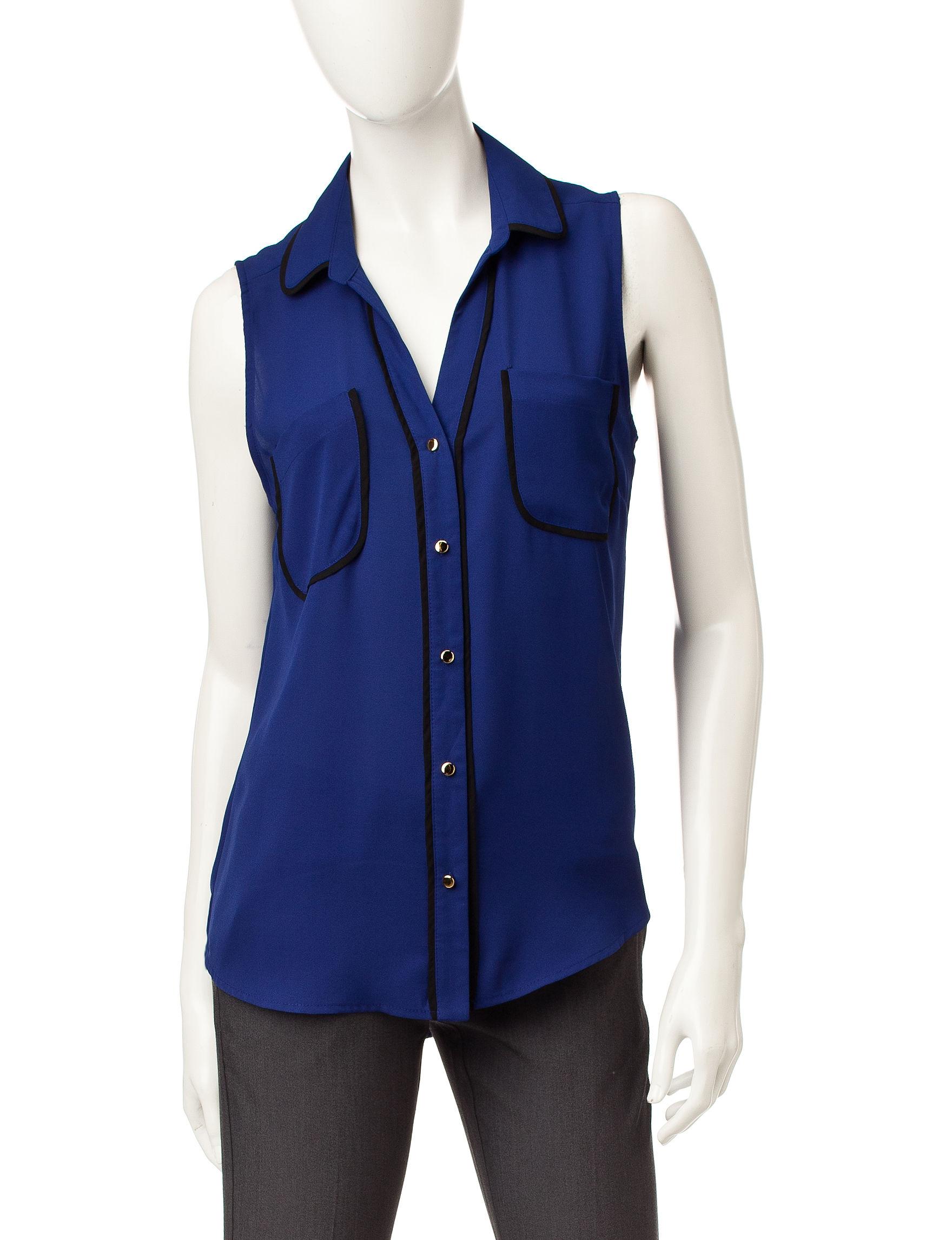 My Michelle Cobalt Blue Shirts & Blouses