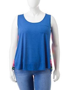 Self Esteem Blue Shirts & Blouses