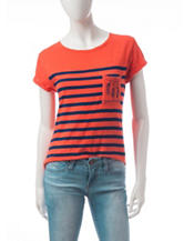 Wishful Park Striped Dreamcatcher Top