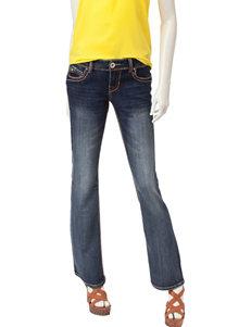 Amethyst Dark Wash Triple Stitch Bootcut Jeans