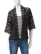 Made For Me to Look Amazing Lace Kimono Jacket