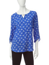 Wishful Park Anchor Print Top