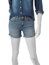 U.S. Polo Assn. Light Wash Cuffed Denim Shorts