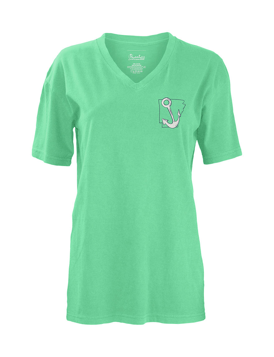 Press Box Mint Tees & Tanks