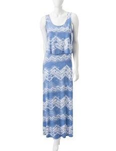 Liberty Love Tie Dye Popover Maxi Dress