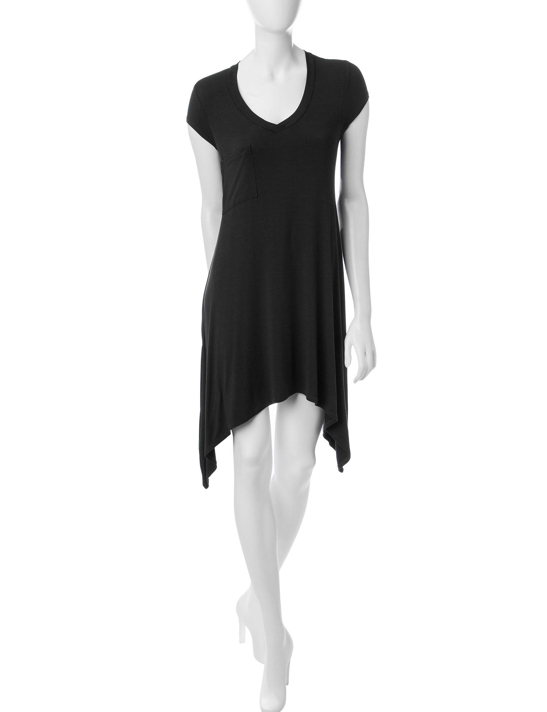 Ultra Flirt Black Fit & Flare Dresses