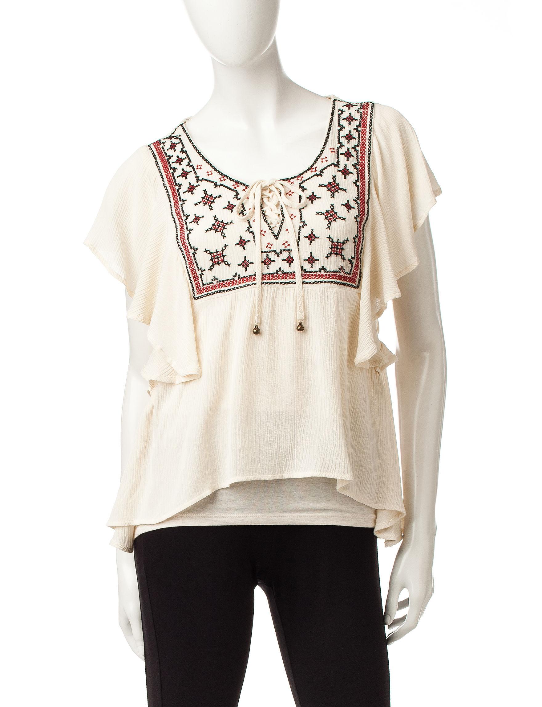 Heart Soul Natural Shirts & Blouses