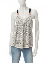 Jolt Lace Tank Top