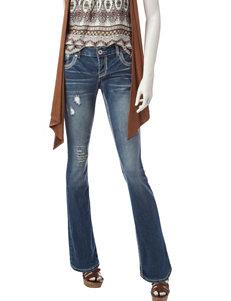 Amethyst Medium Wash Distressed Hourglass Jeans