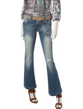 Amethyst Medium Wash Fit & Flare Jeans