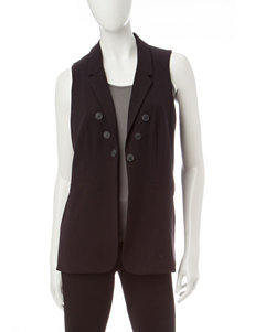 Kensie Black Tuxedo Vest