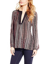 Jessica Simpson Calista Geo Print Tunic Top