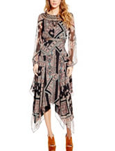 Jessica Simpson Multicolor Paisley Chiffon Dress