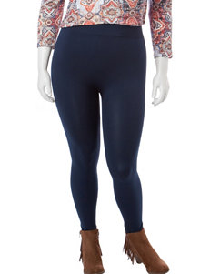 Extra Touch Navy Leggings