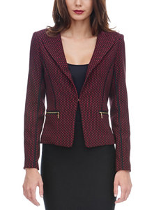 XOXO Arrow Jacquard Knit Jacket