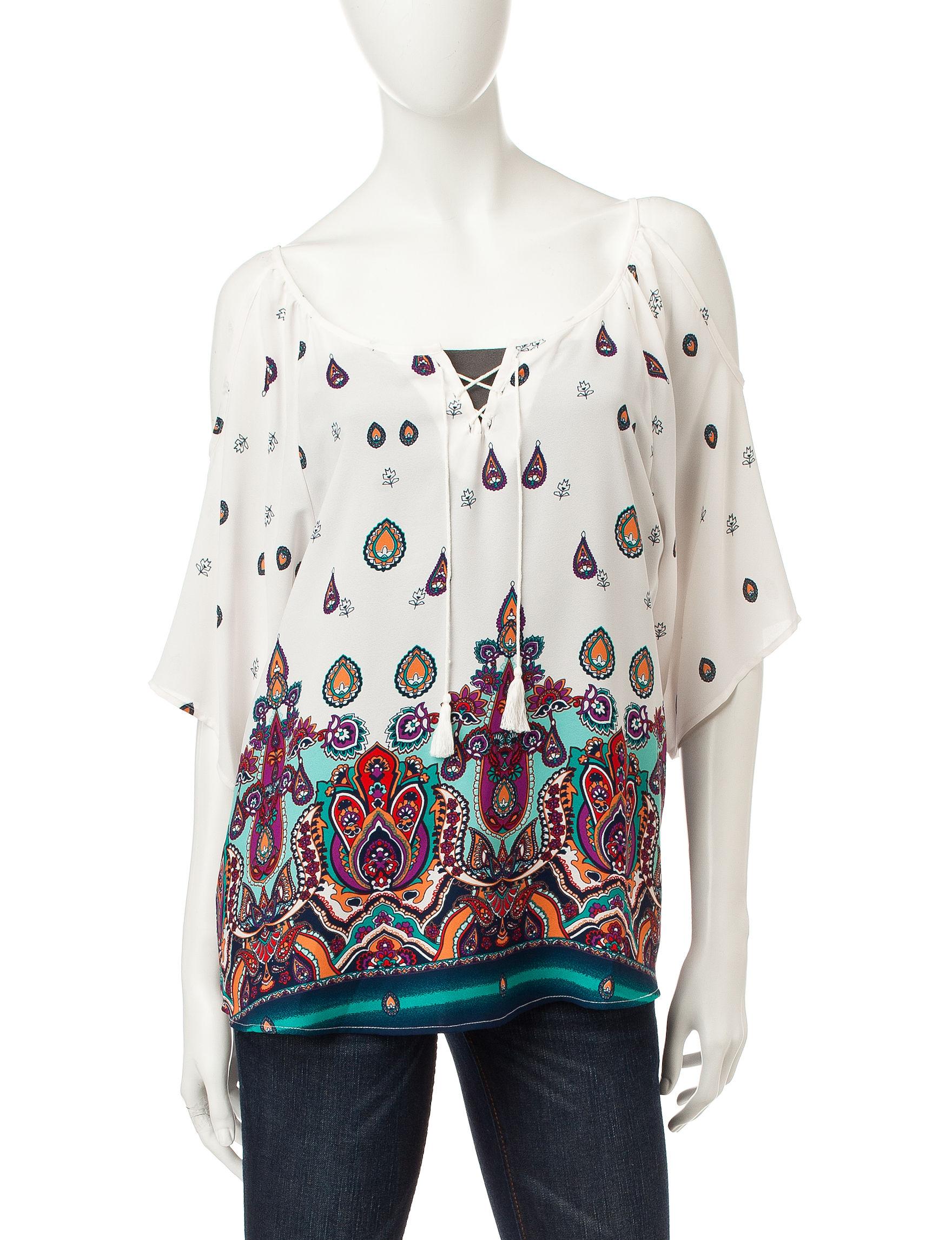 Liberty Love Ivory Shirts & Blouses