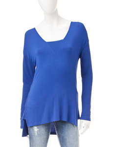 Signature Studio Blue Shirts & Blouses